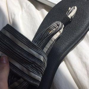 Sanuk Shoes - Sanuk Cloth Striped Sandals